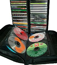 CD wallet and disk storage